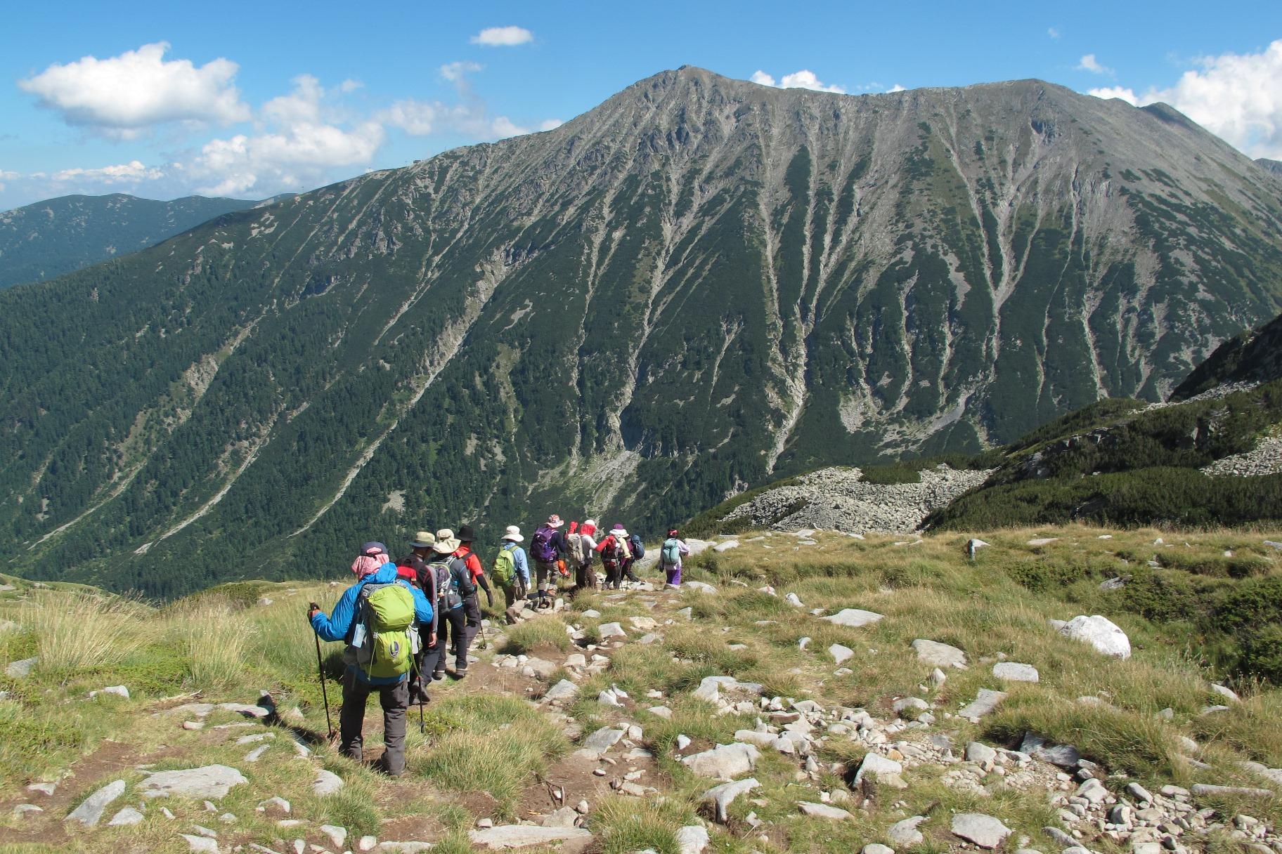 ブルガリアでの登山を存分に楽しむ