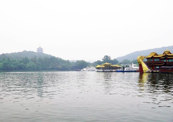 杭州の世界遺産・西湖の遊覧