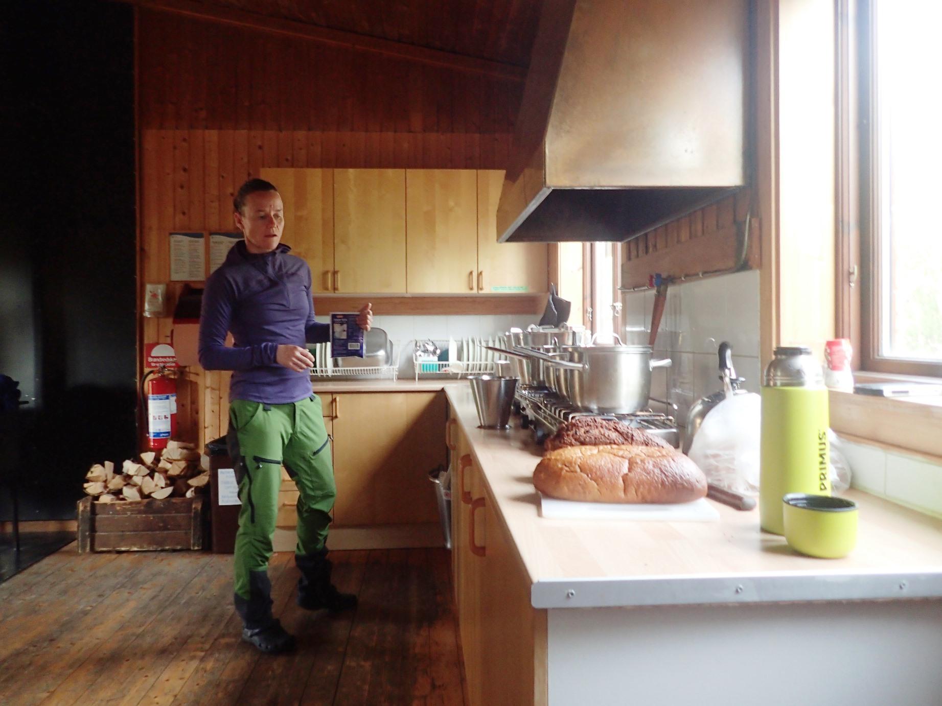 自炊小屋のキッチン