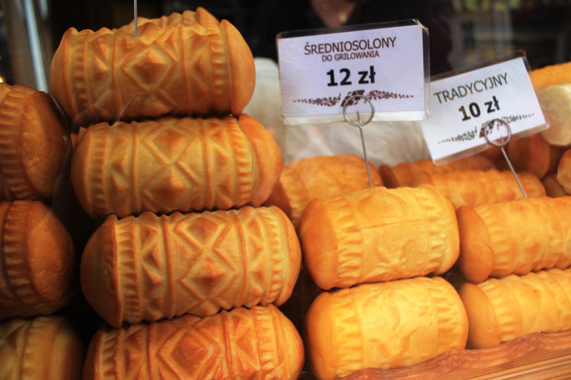 ザコパネ名物の燻製チーズ
