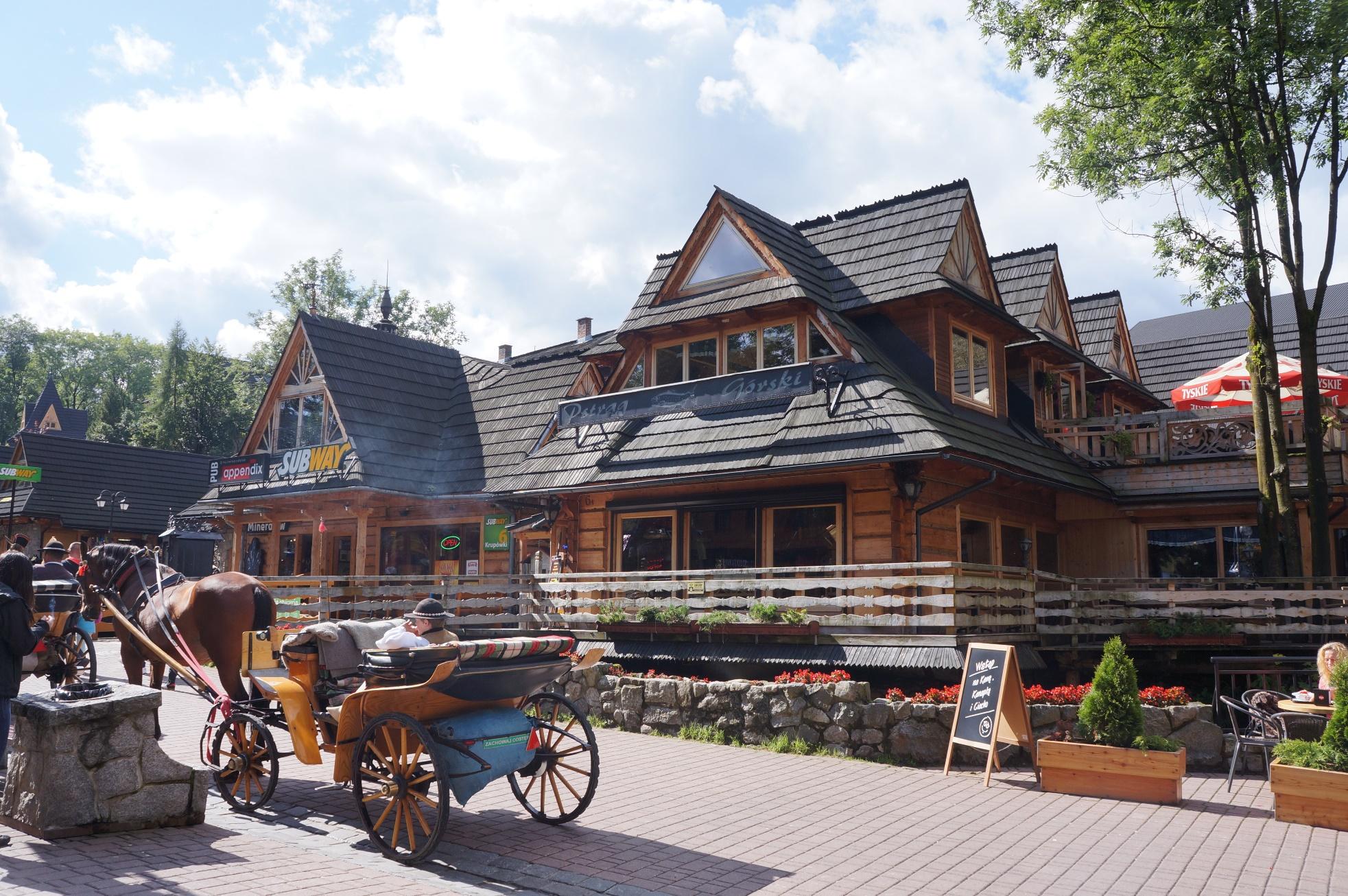 ザコパネは独特の建築様式でも有名