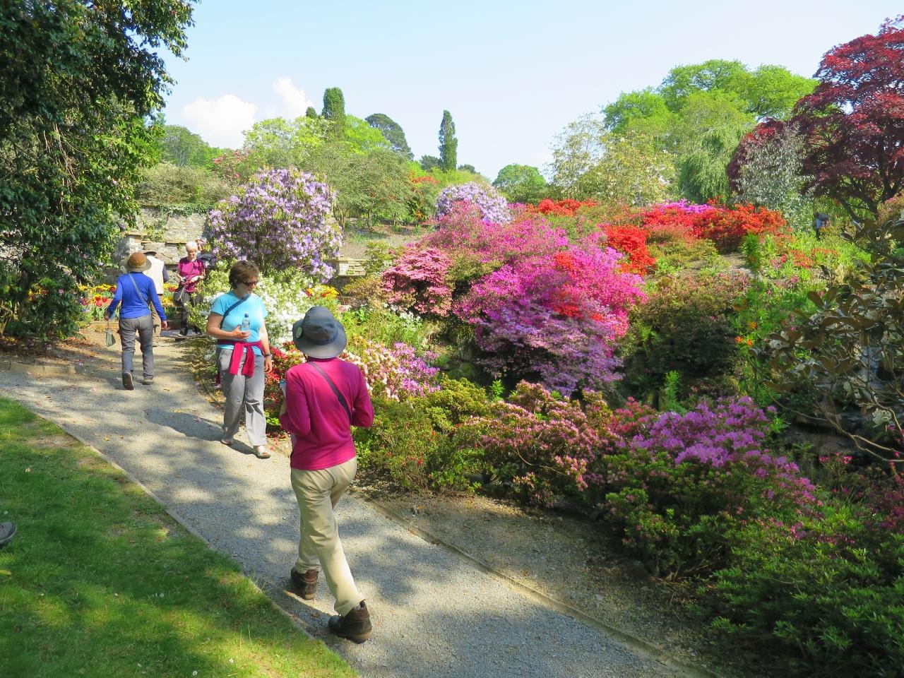 英国で最も美しいと言われる庭園へ訪問