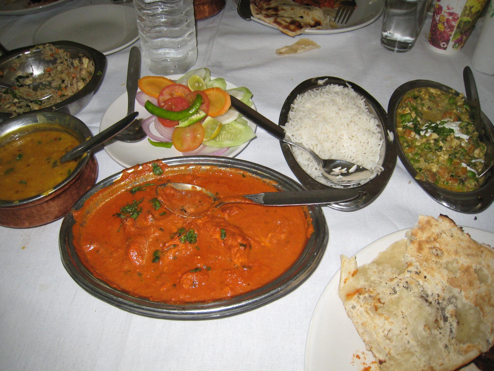 美しいインド料理