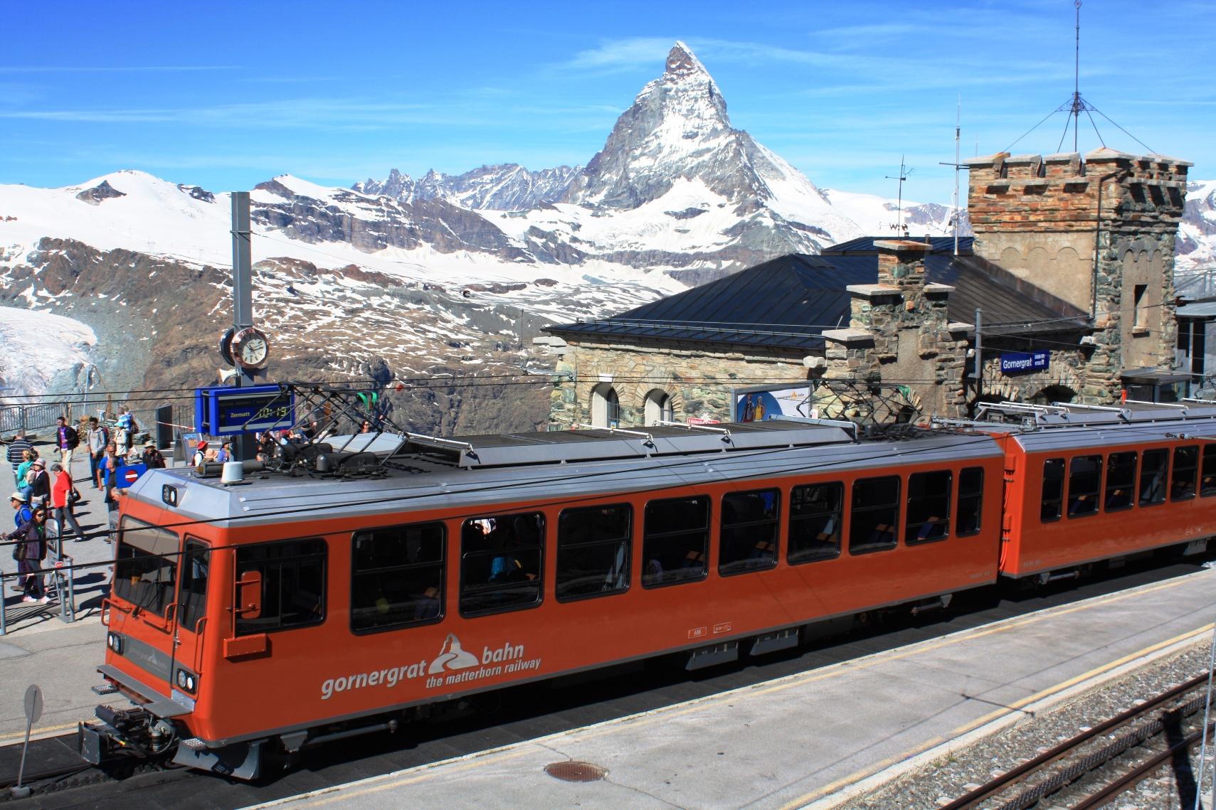 登山電車をフル活用