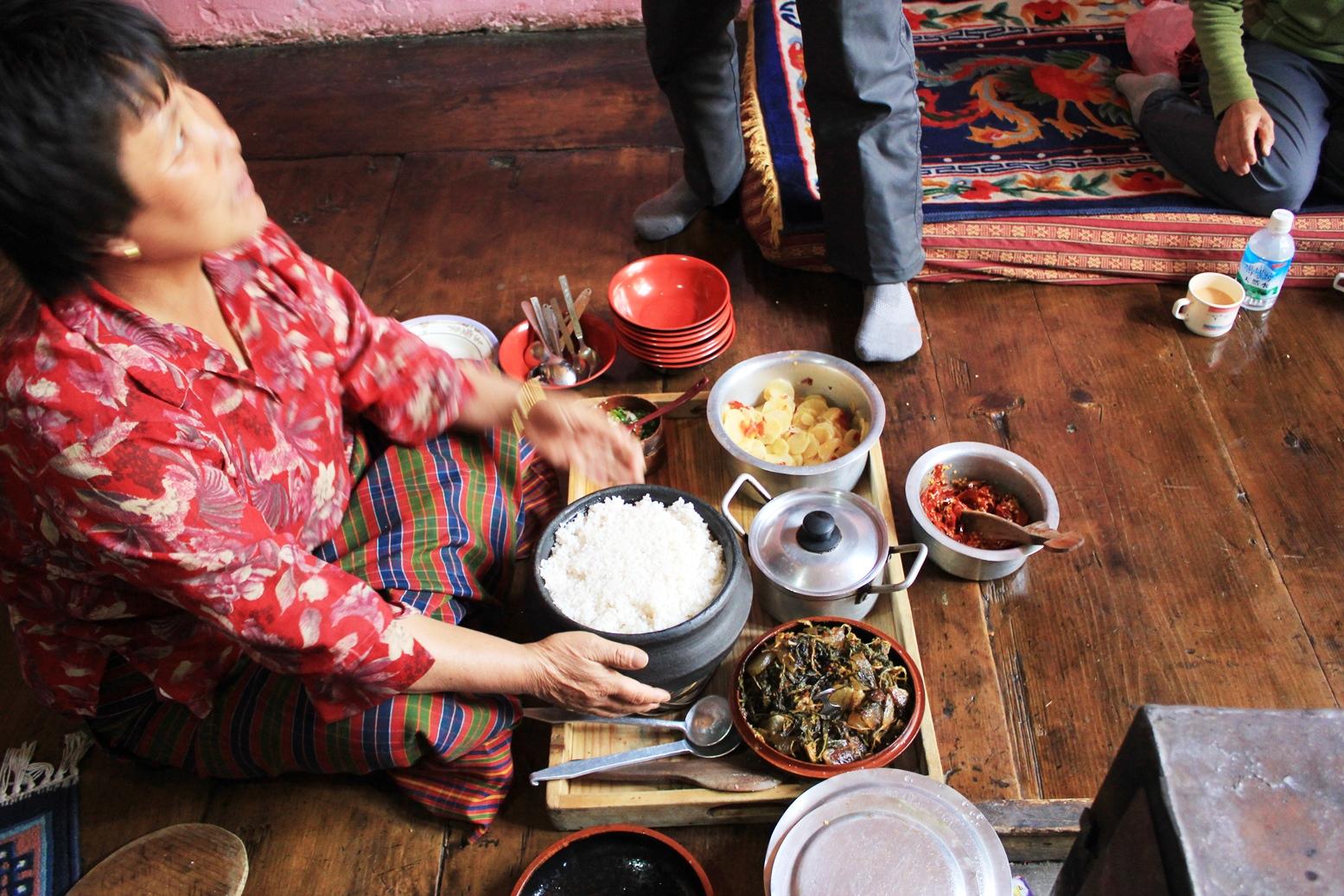 野菜がおいしいと好評のブータン料理