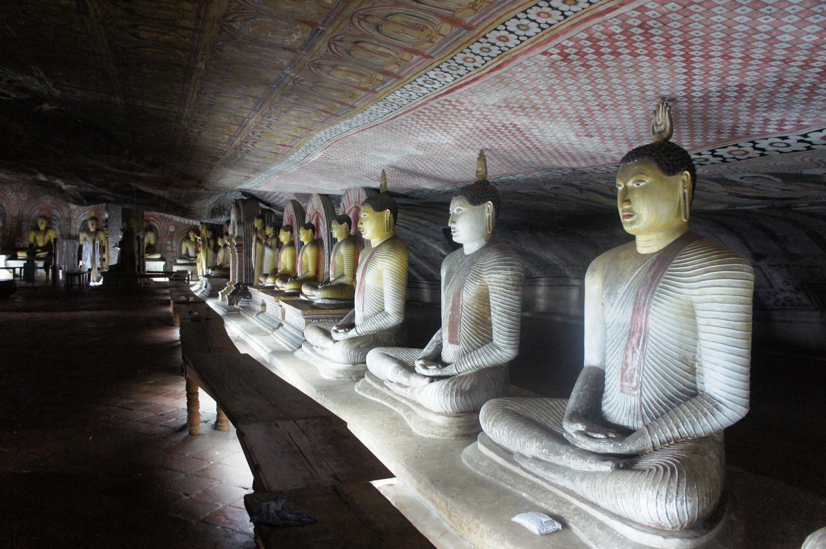 世界遺産ダンブッラ石窟寺院(7日目)