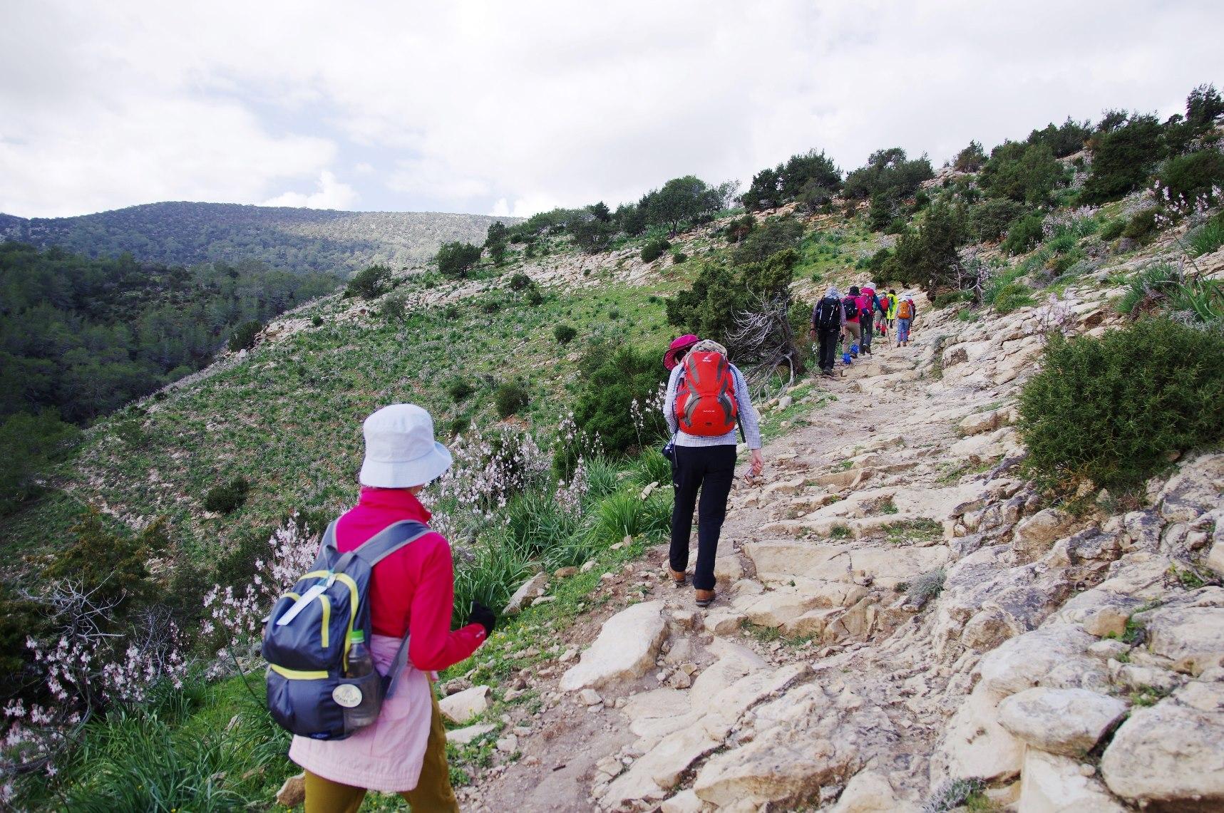 アカマス半島をハイキング(3日目)