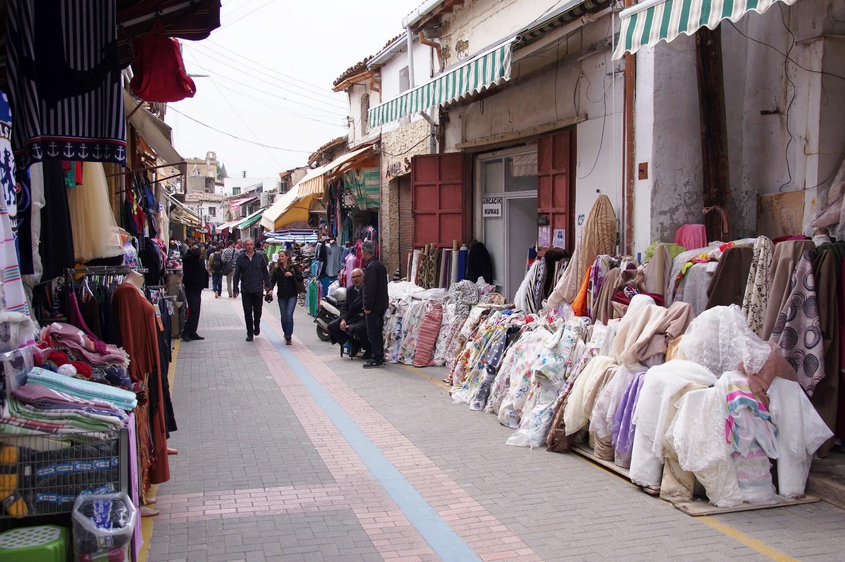 北キプロス側の街並み(7日目)