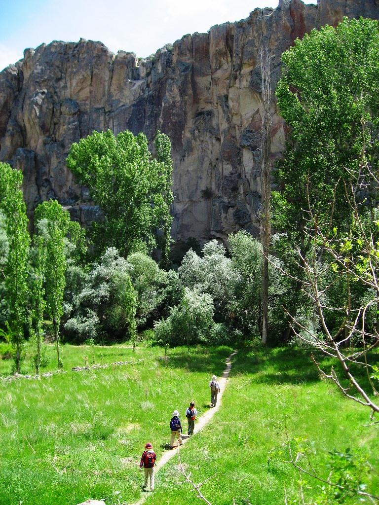 緑美しい春のウフララ渓谷(3日目)