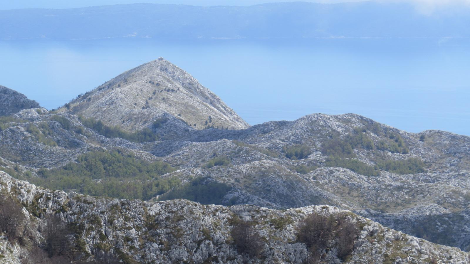 山頂に山小屋のあるヴォサック山(6日目)