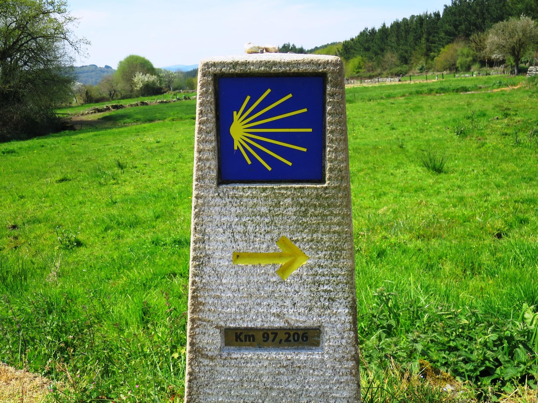 巡礼路の標識