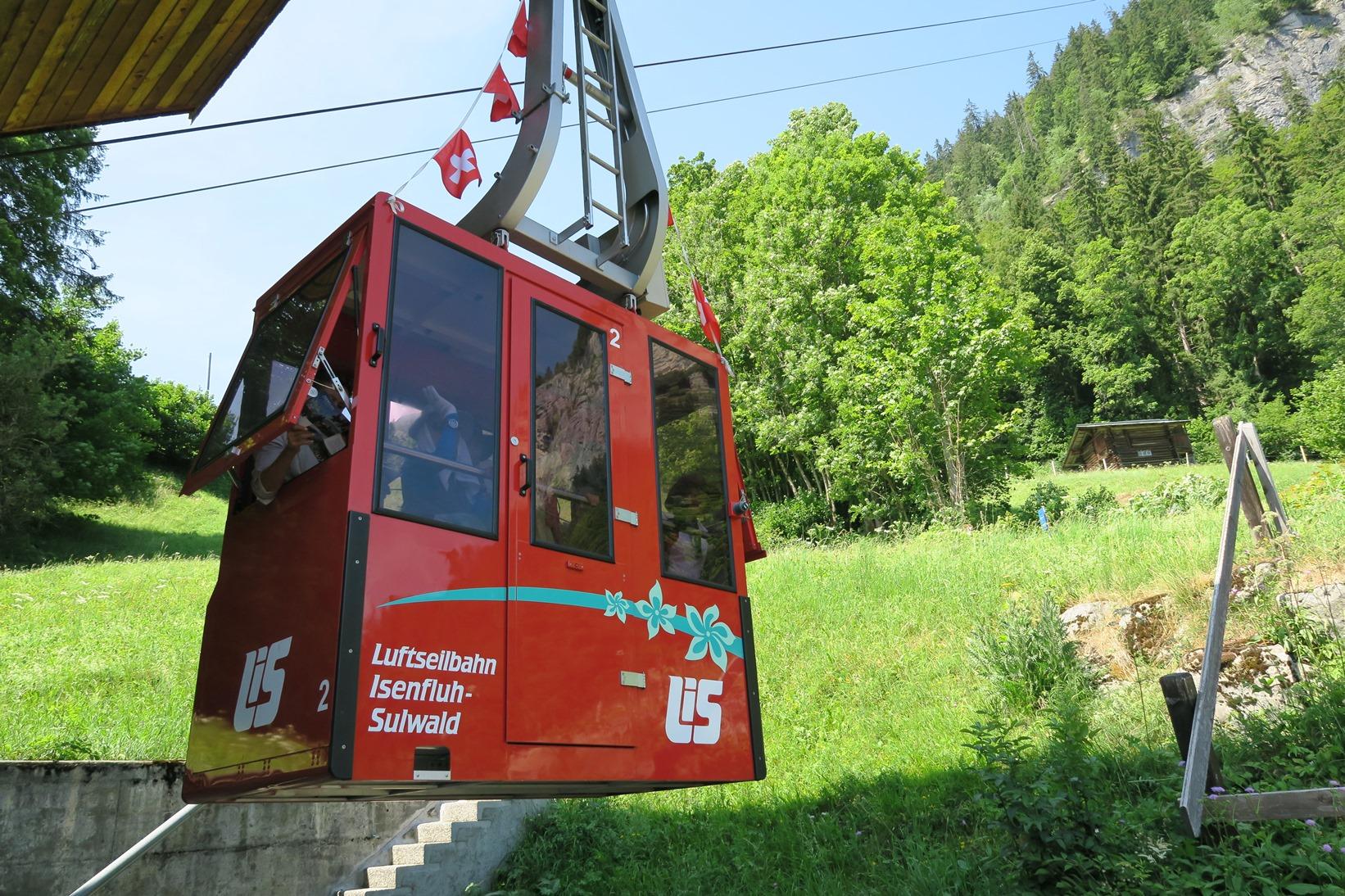 発達した交通手段を駆使しての移動はスイスならでは(3日目)