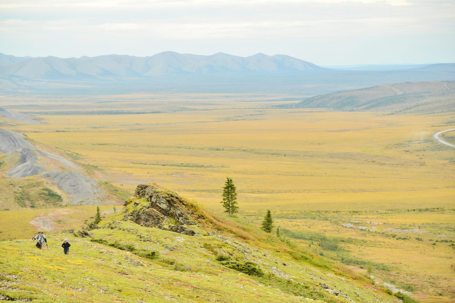 北極圏では、どこか別の惑星に迷いこんだような不思議な景色に出会える(4日目)
