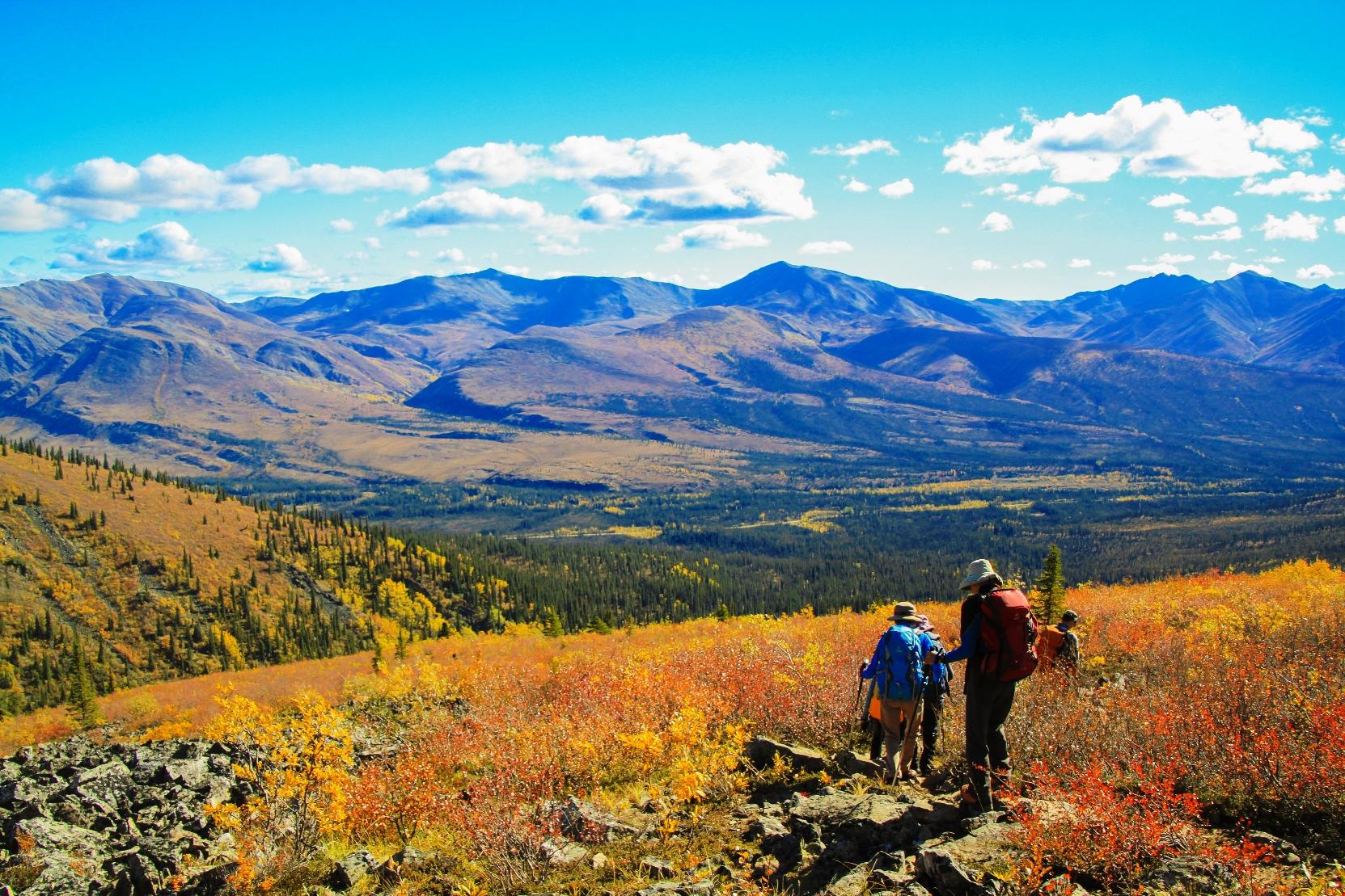 トゥームストーン準州立公園では3日目と5日目に異なるハイキングコースにご案内