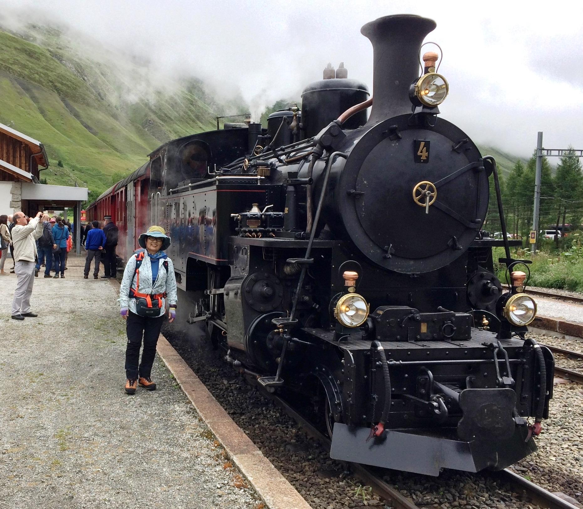 フルカ蒸気鉄道に乗車(6日目)