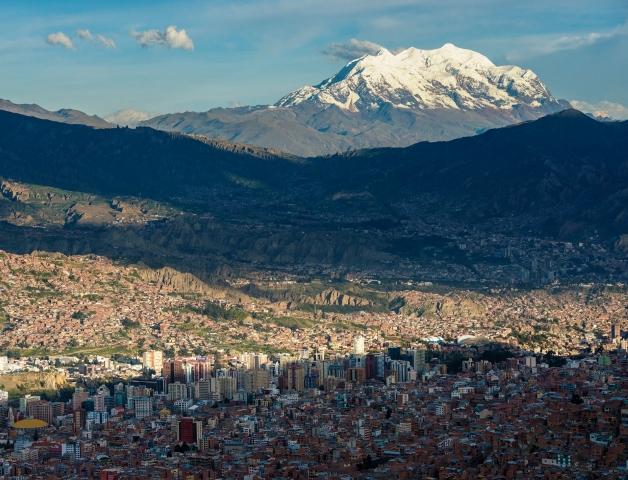 世界最高所の首都ラパスとイリマニ峰(2日目)