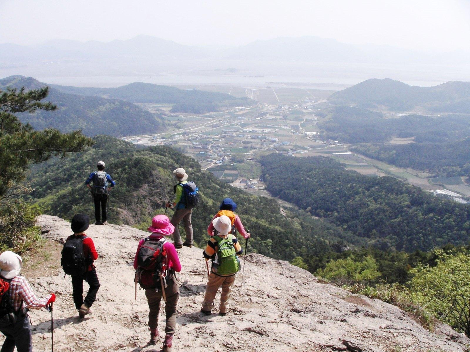 眺めの良い辺山半島の稜線(3日目)