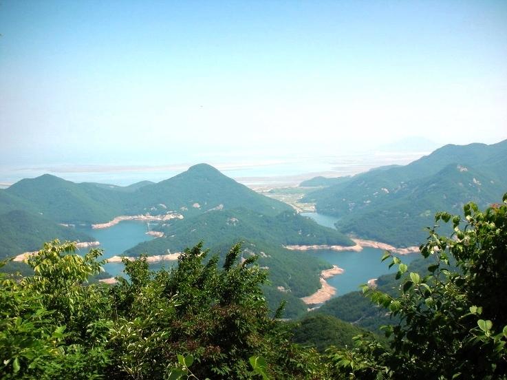 貯水池が点在する辺山半島(3日目)