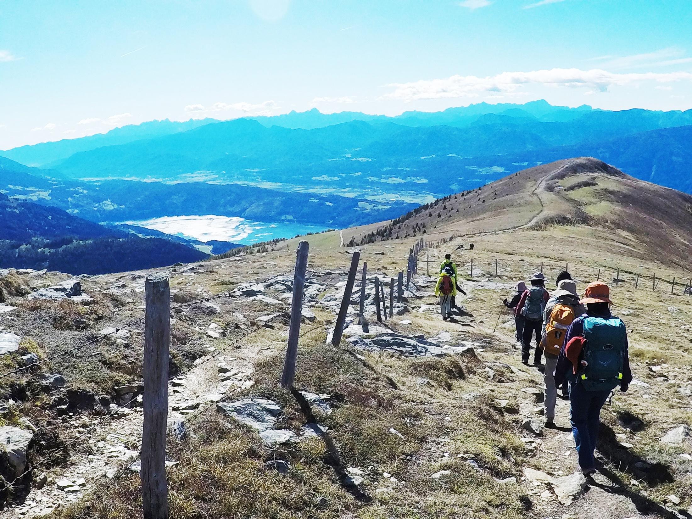 ミルシュタット湖展望ハイキング(4日目)