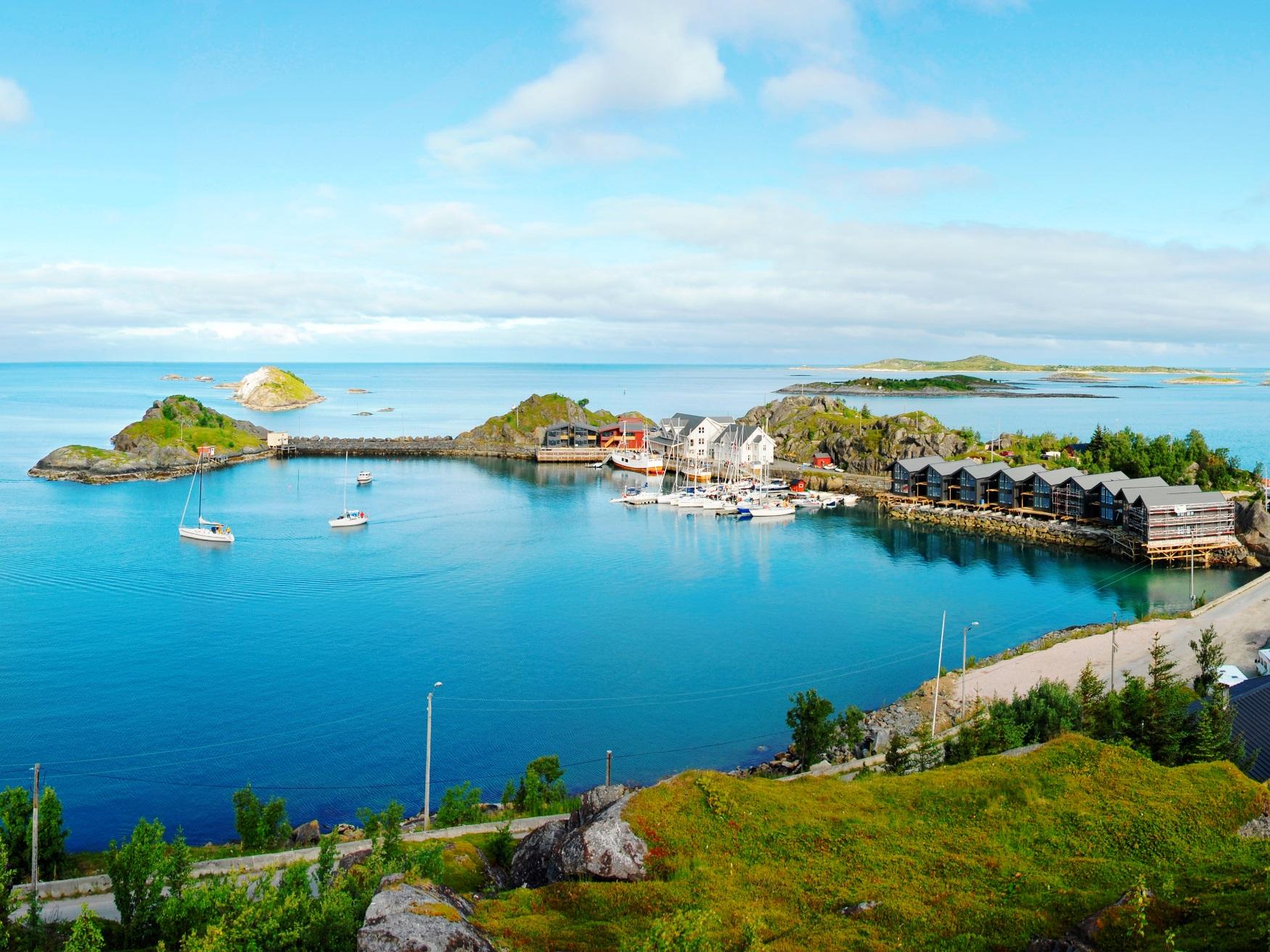 セニヤ島の快適なホテル