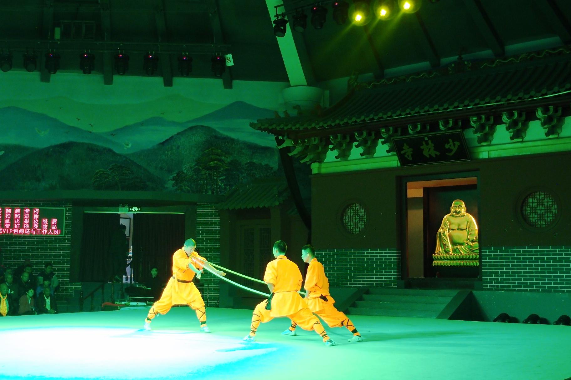 少林寺の武術公演(5日目)