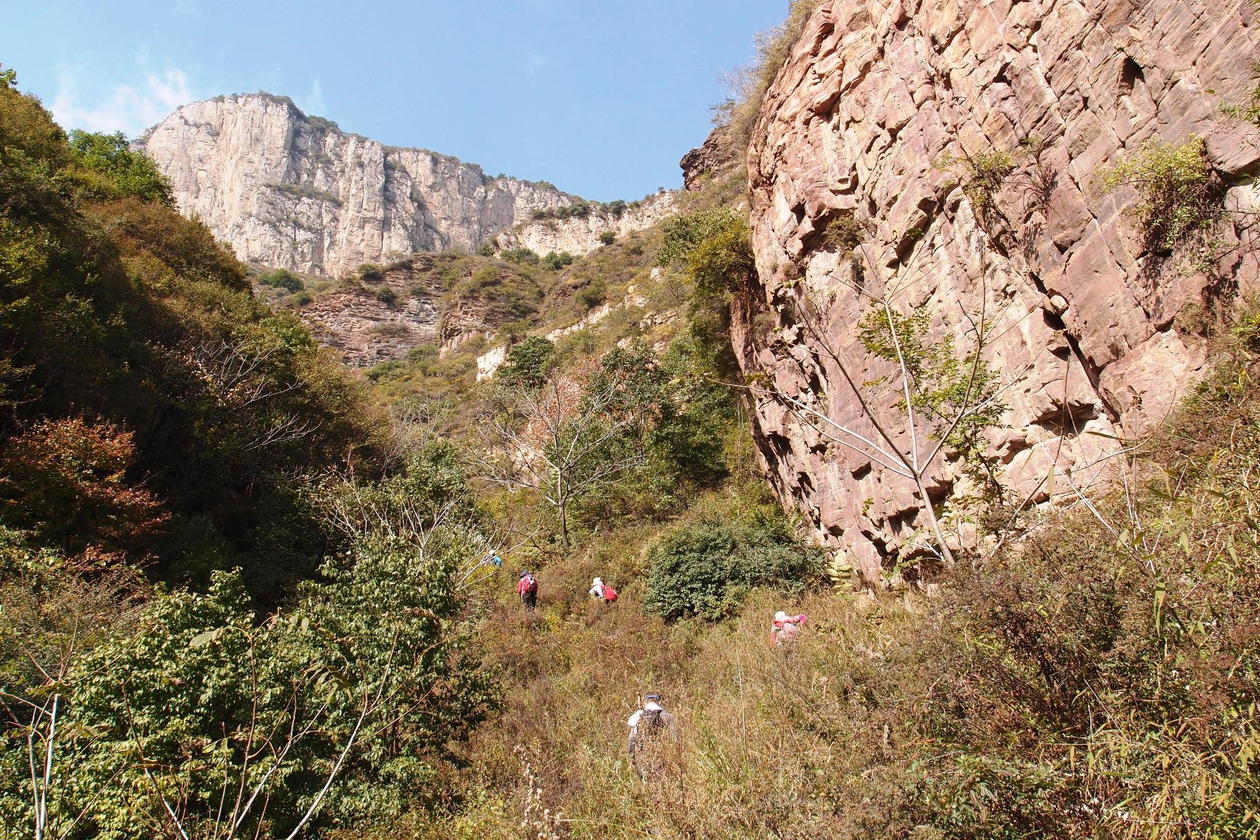 歩き応えのある東太行山でのハイキング(2日目)