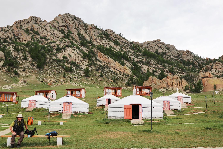 ゲルスタイルのツーリストキャンプ