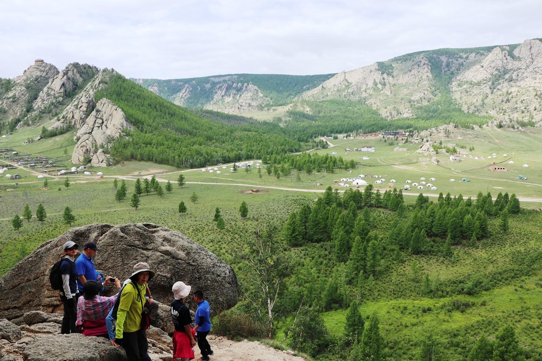 テレルジ周辺ハイキング