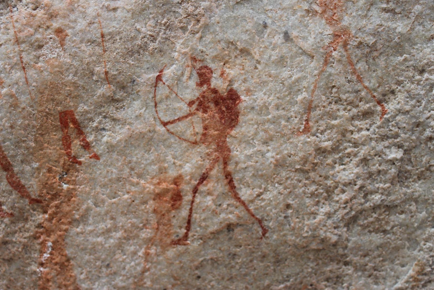 ブッシュマンの古代壁画(8日目)