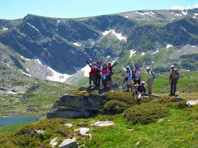 リラ湖畔のハイキングで足慣らし(3日目)