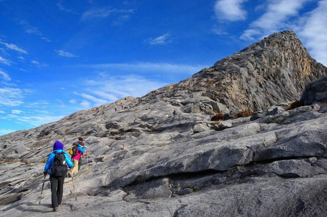 ロウズピーク(山頂)は目の前