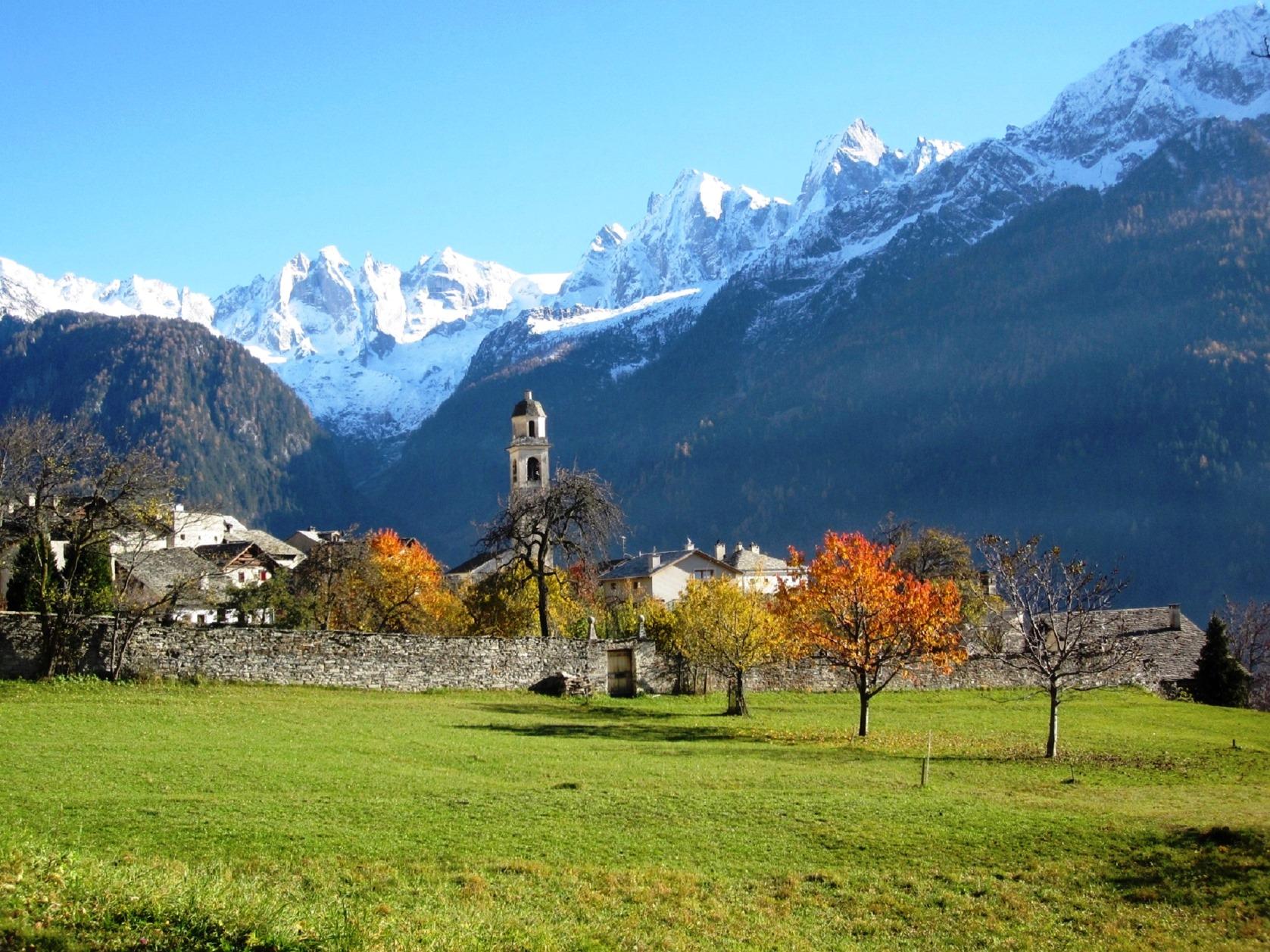 スイス最奥の村の一つ、ソーリオ(3日目)