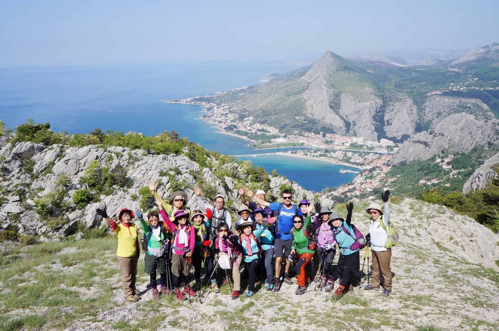 オミッシュ山塊のハイキング(5日目)