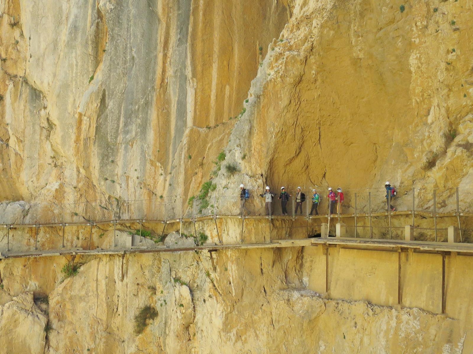 断崖絶壁につけられた王の小道(3日目)