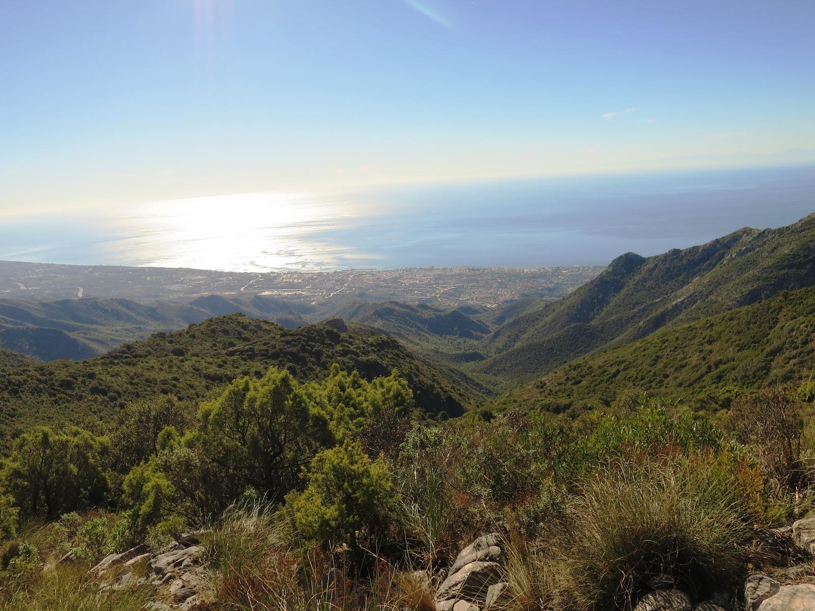 コスタ・デル・ソル(太陽海岸)を展望するハイキング(4日目)