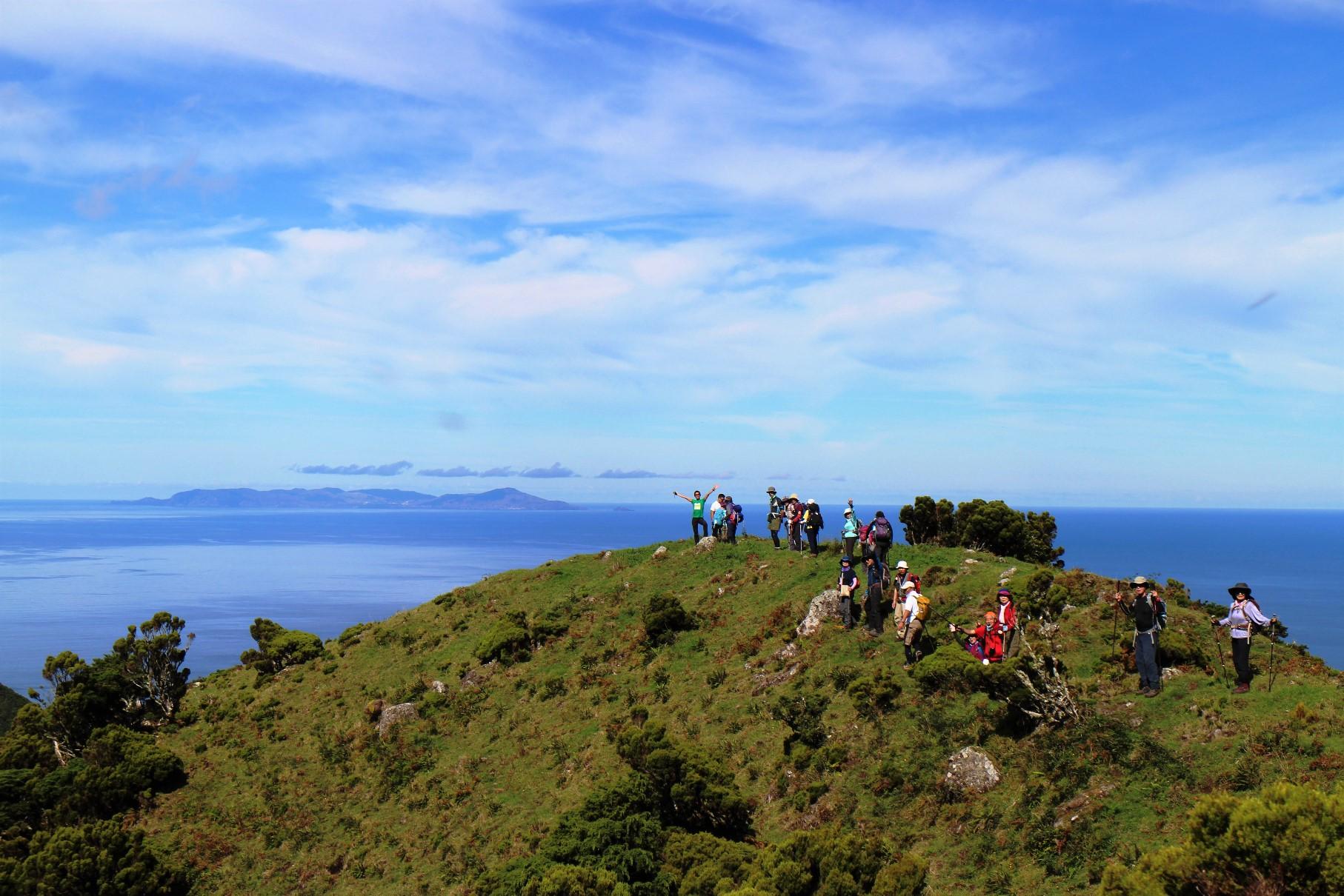 サン・ジョルジ島のハイキング(7日目)
