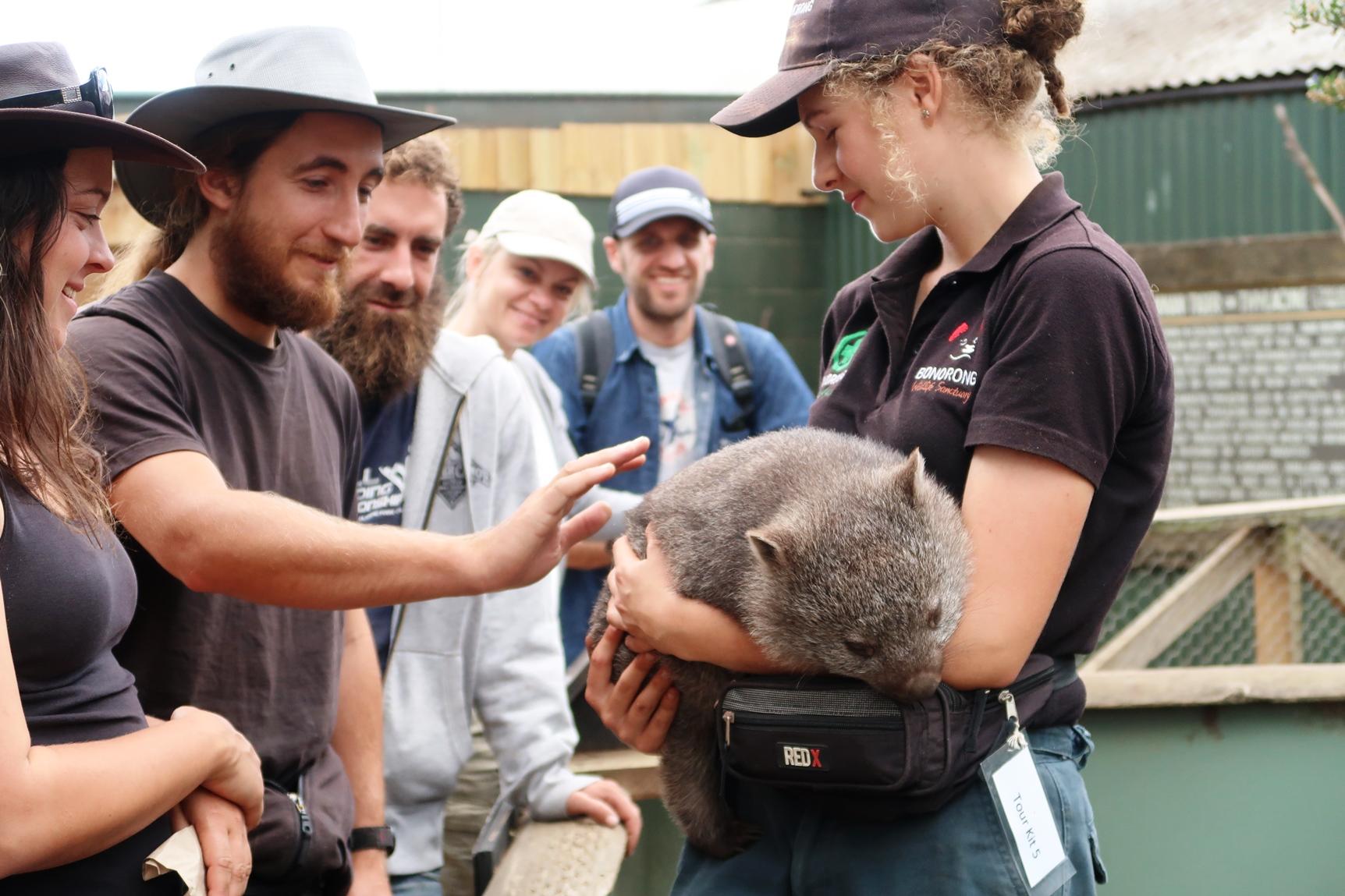 トロワナで保護された動物を見学(5日目)