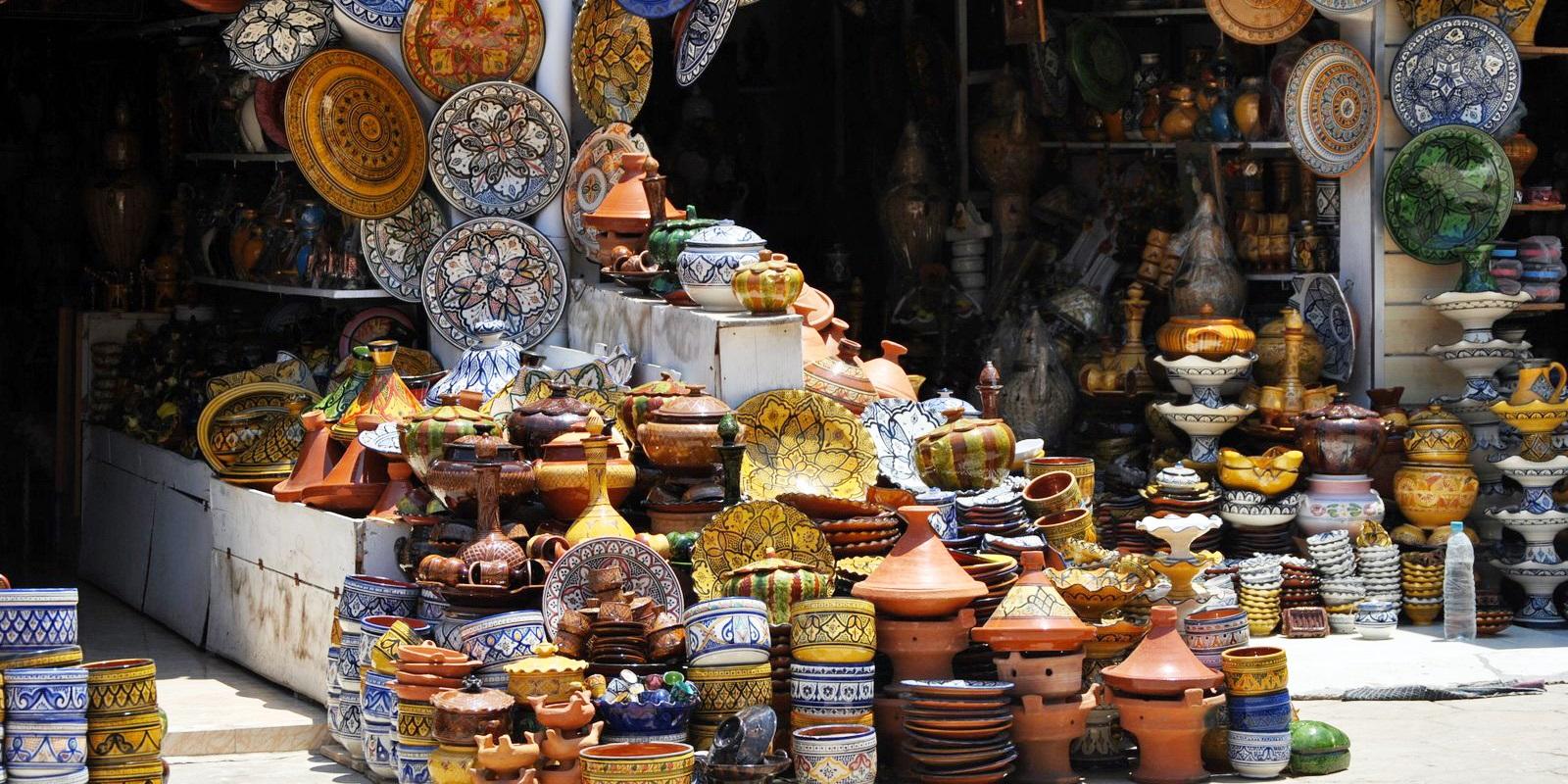 モロッコのシーク(商業地区)(7日目)