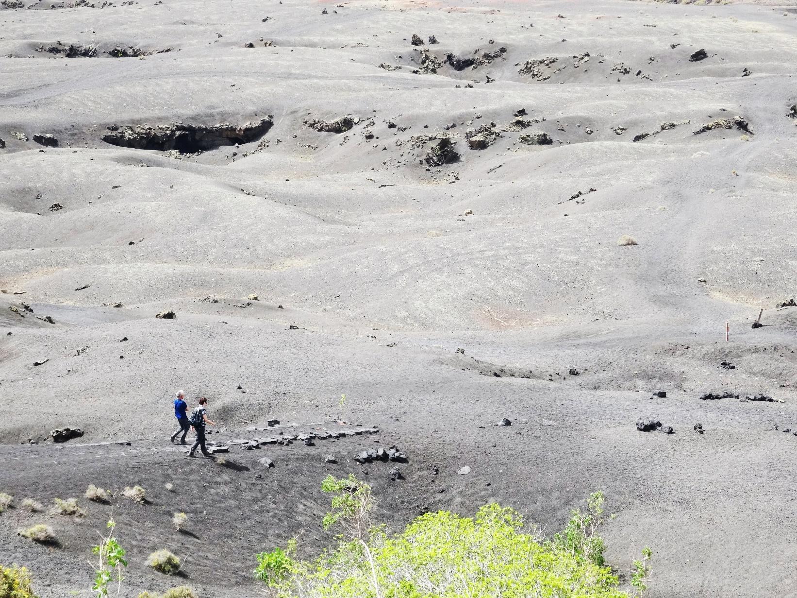 ランサローテ島のハイキング(8日目)