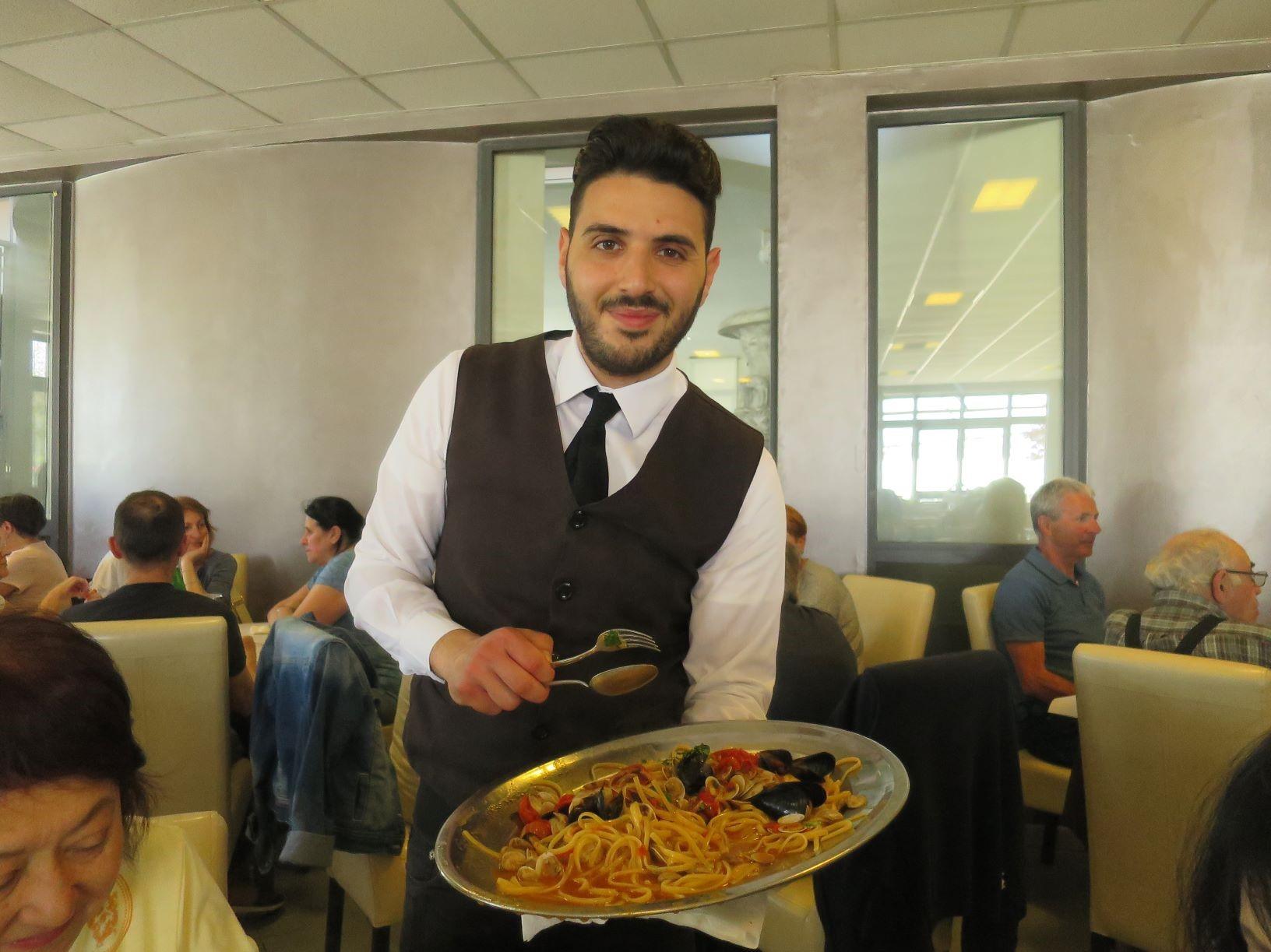 イタリアのおいしい食事