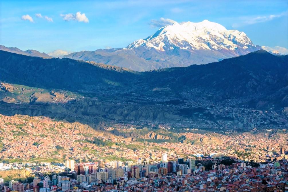 世界最高所の首都、ラパス