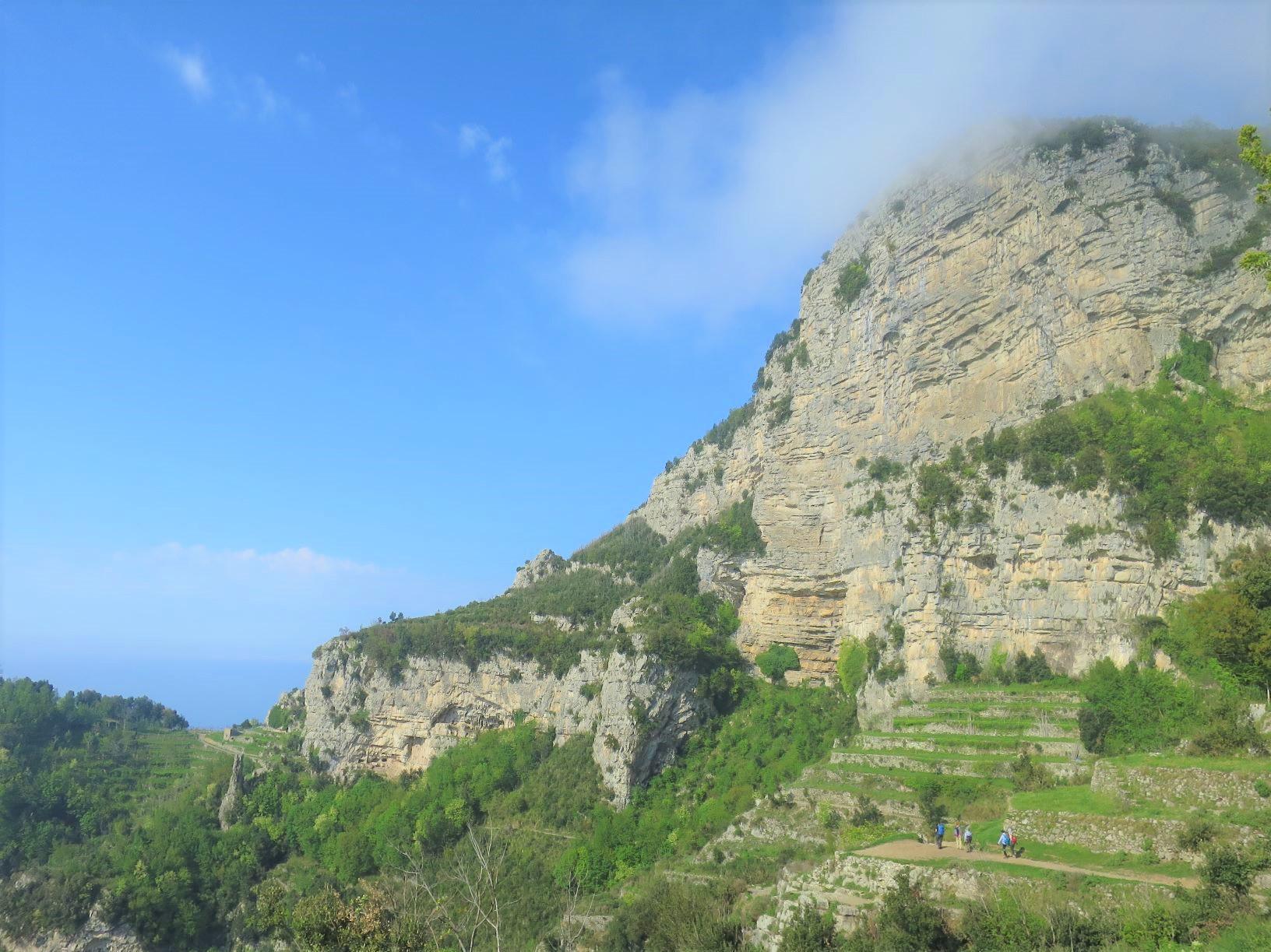 アマルフィ海岸の「神々の道」をハイキング(3日目)