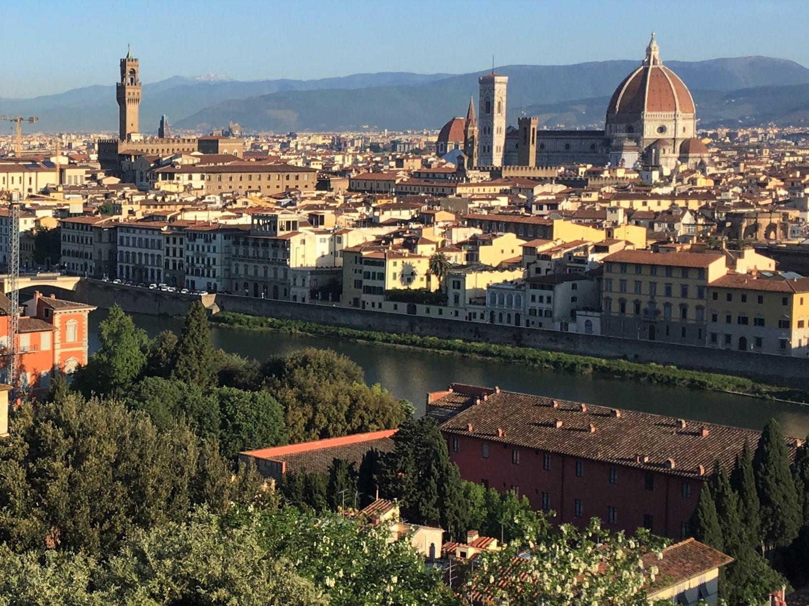 フィレンツェの歴史地区(2日目)