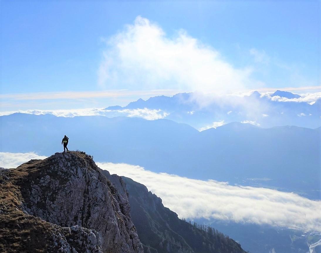 好展望の山頂へ(5日目)