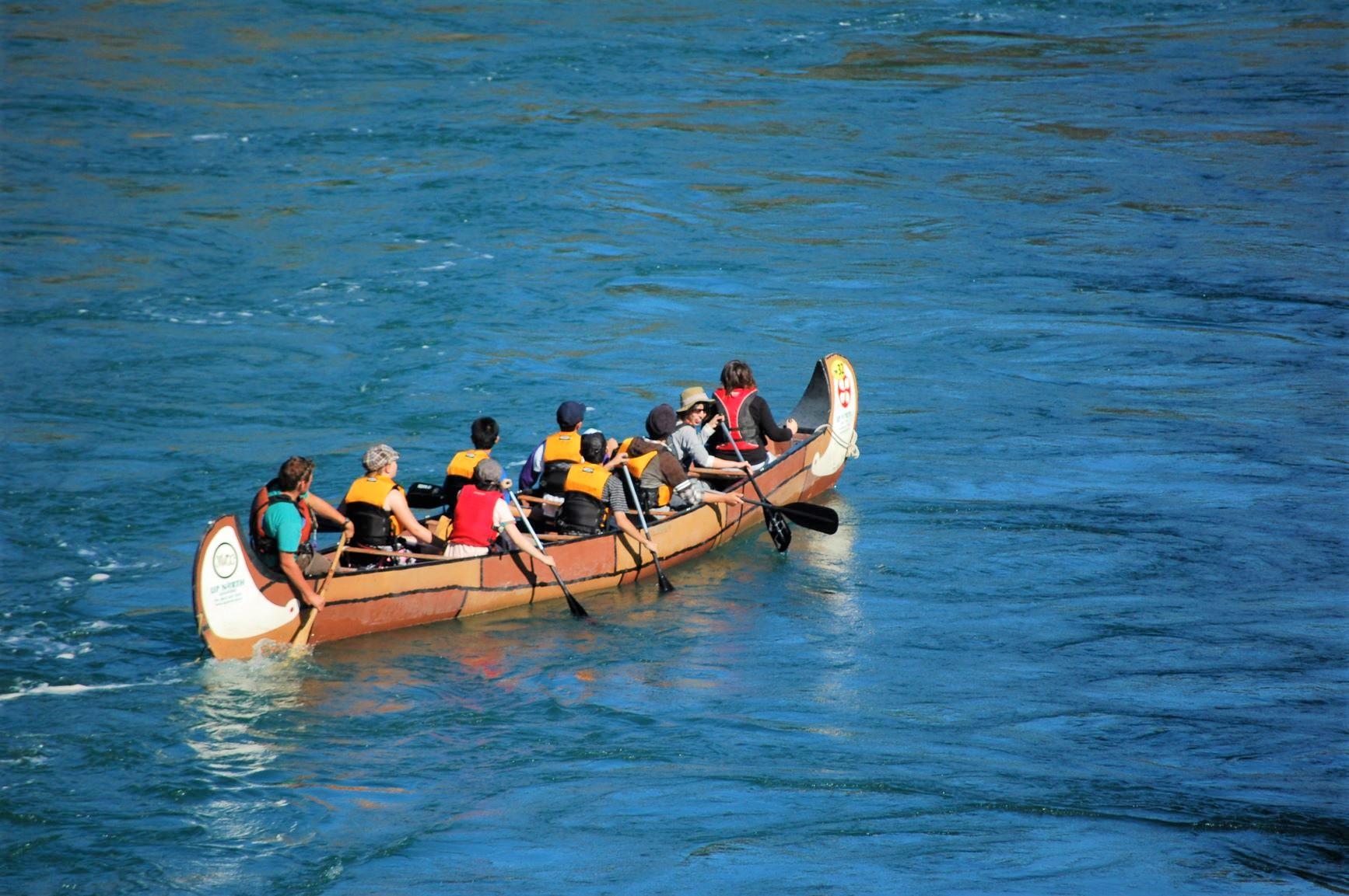 ユーコン川でカヌー体験(5日目)