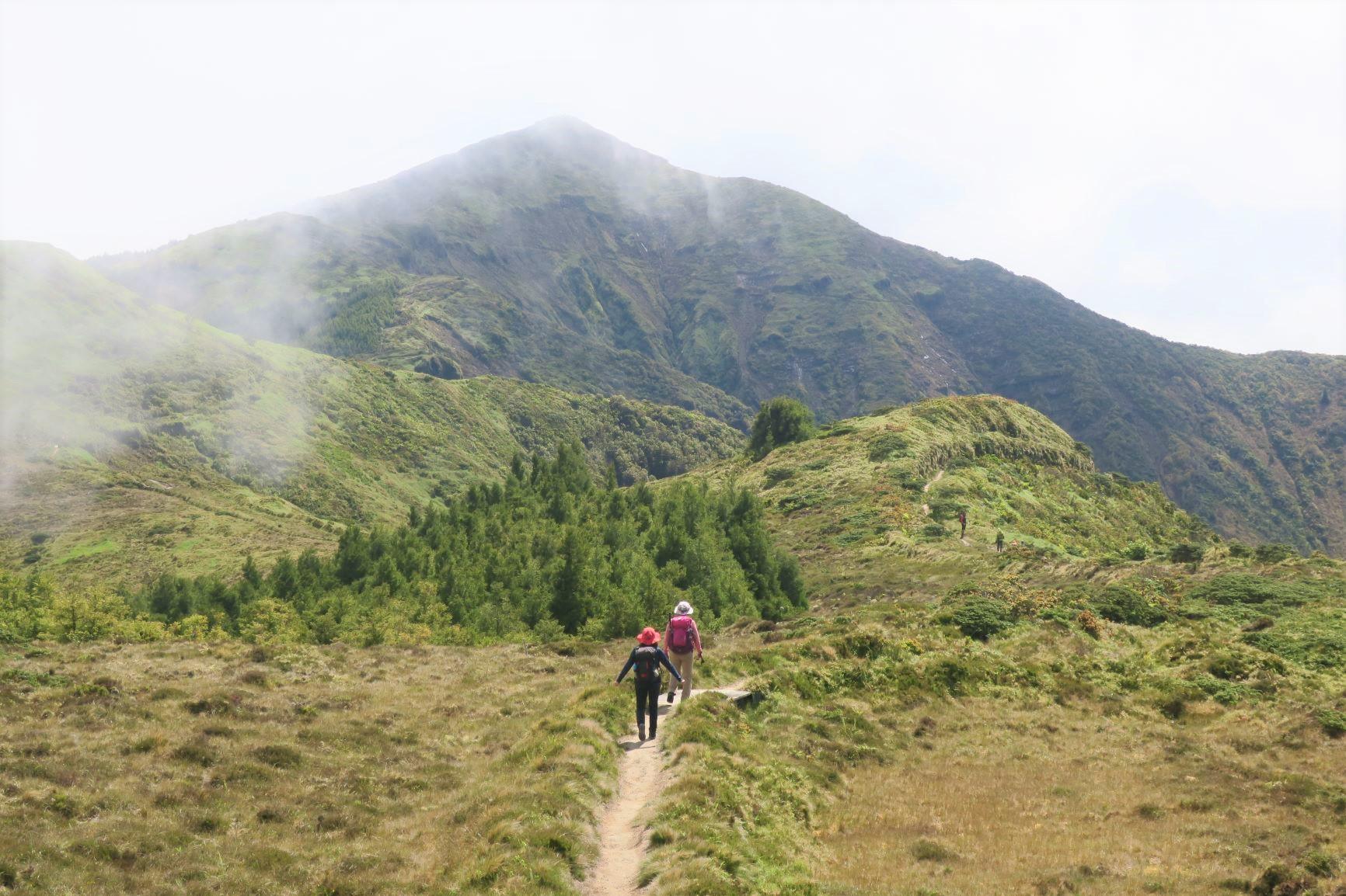 サン・ミゲル島最高峰ピコ・デ・ヴァラへ向けて(4日目)