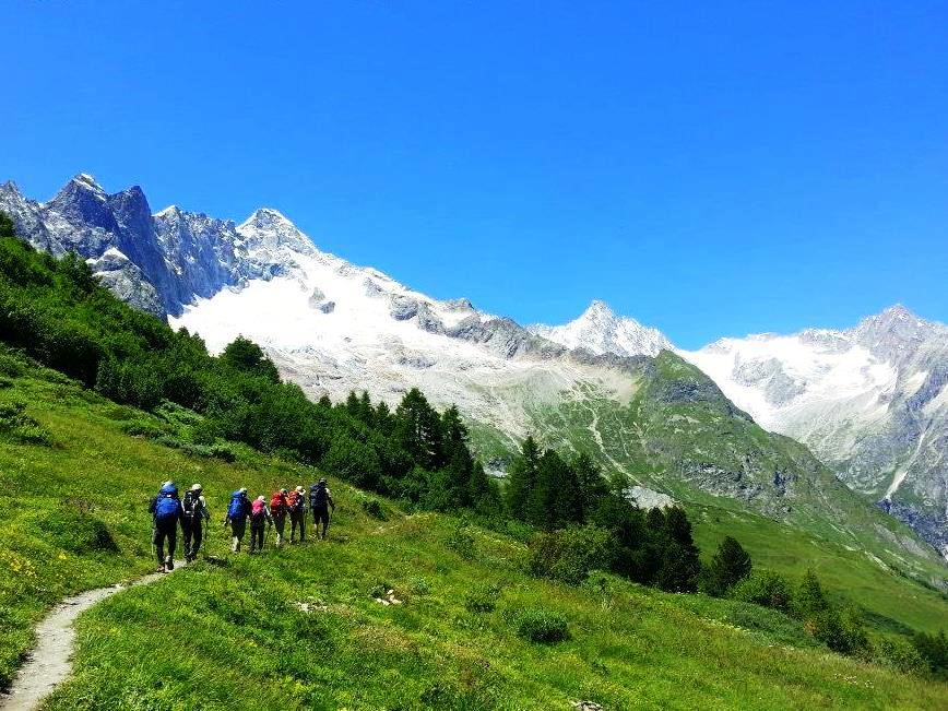 フェレへ向けてスイス側を歩く(6日目)