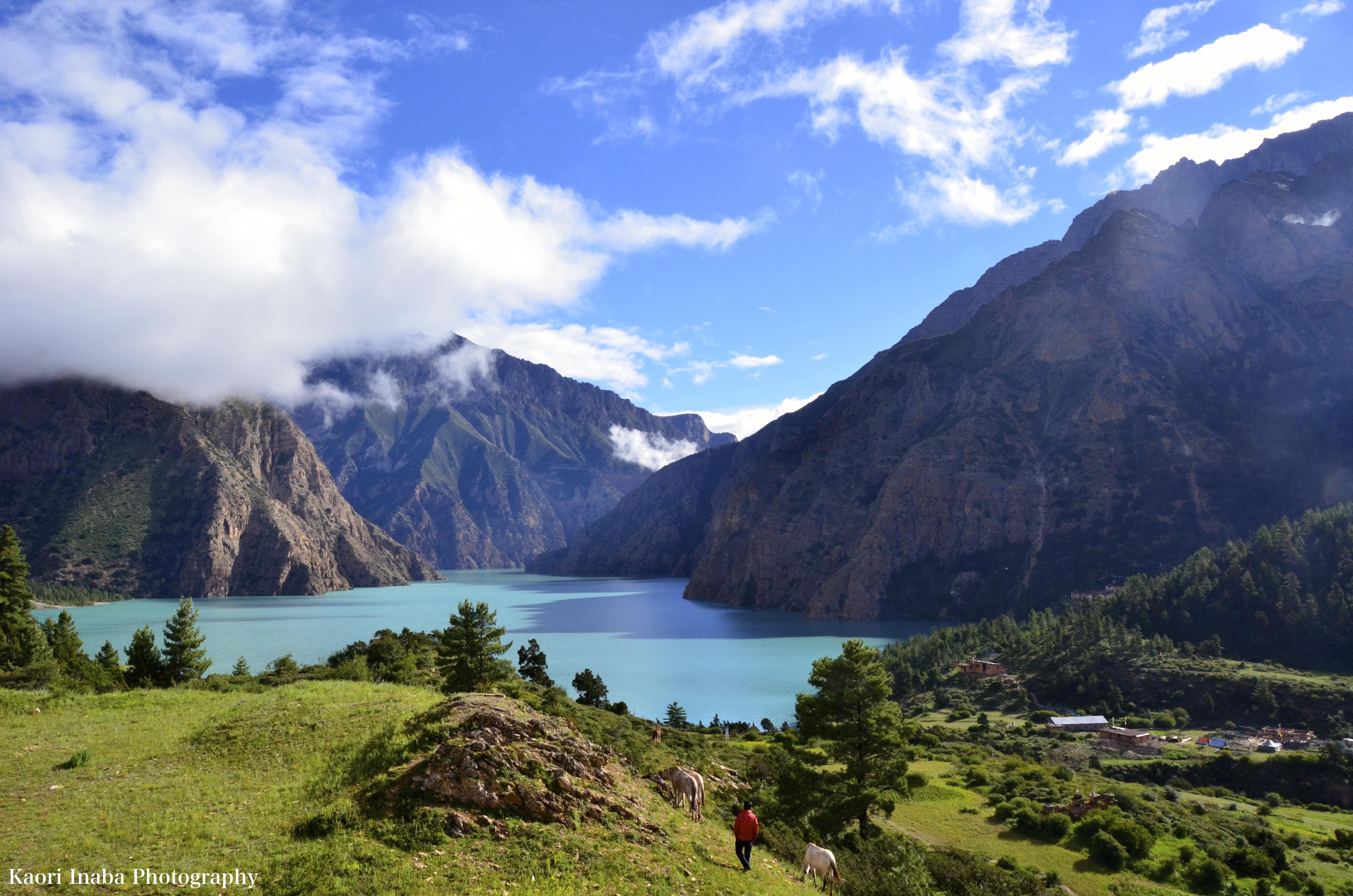 ネパールで一番深い湖 ポクスンド湖