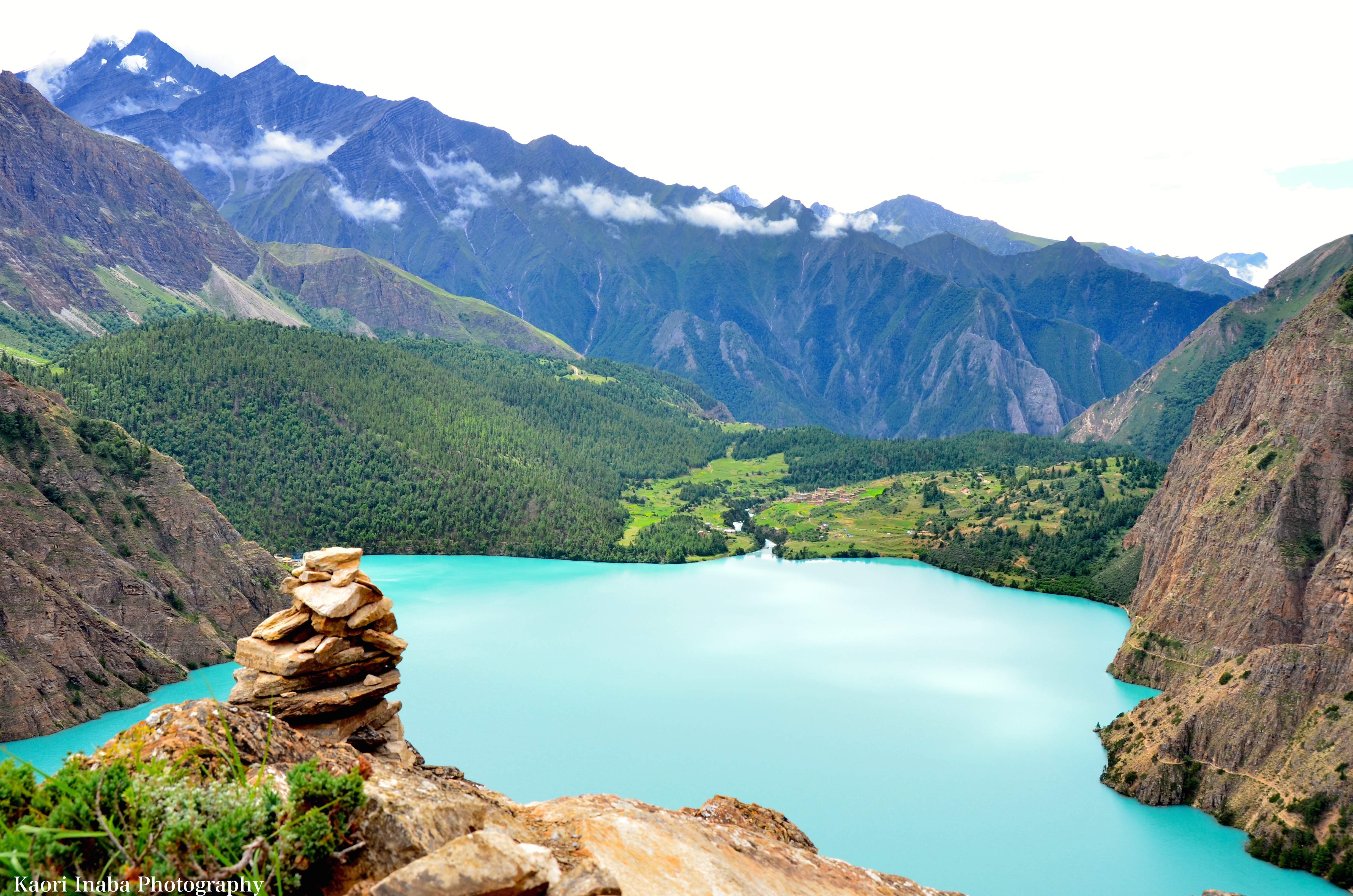 神秘の湖 ポクスムド湖