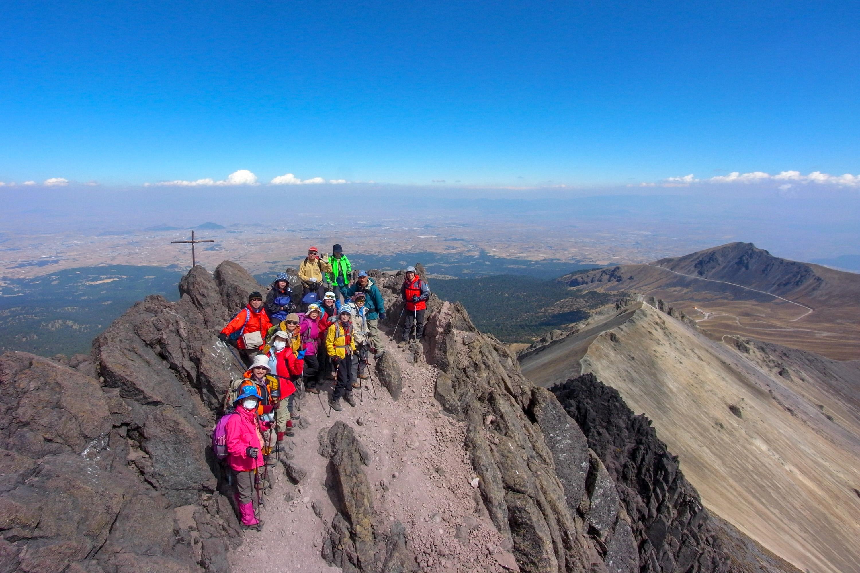 トルーカ山(4,620m)登頂!